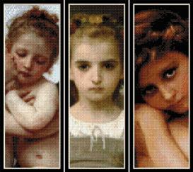 bouguereau bookmark collection cross stitch patterns by cross stitch collectibles
