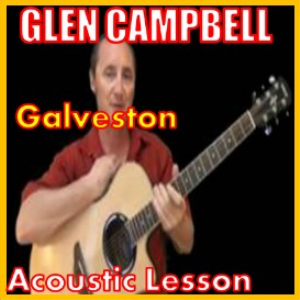 learn to play galveston by glen campbell