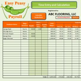 easy peasy payroll - california