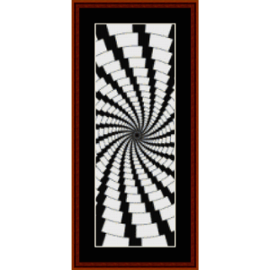 Fractal 408 Bookmark - cross stitch pattern by Cross Stitch Collectibles | Crafting | Cross-Stitch | Other