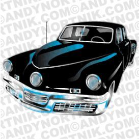 Car Clip Art 1948 Tucker | Photos and Images | Clip Art