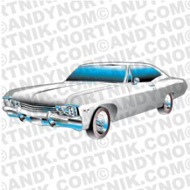 Car Clip Art 1967 Chevy SS Impala | Photos and Images | Clip Art
