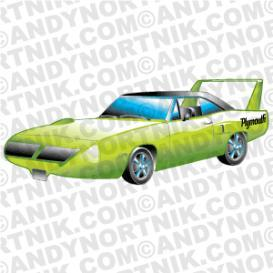 Car Clip Art 1970 Plymouth Superbird