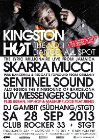 kingston hot 09-2013 feat. skarra mucci & luv messenger