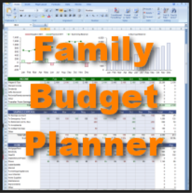 easy to use family budget planner