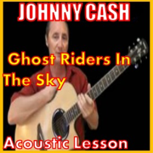 learn to play ghost riders in the sky by johnny cash