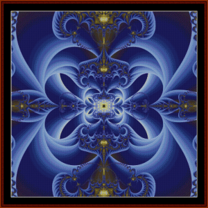 Fractal 48 cross stitch pattern by Cross Stitch Collectibles | Crafting | Cross-Stitch | Wall Hangings