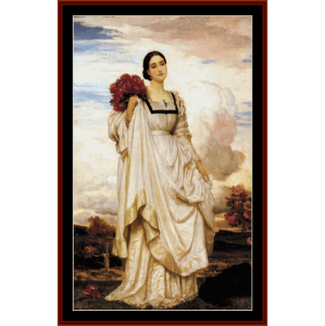 Countess Brownlow - Leighton cross stitch pattern by Cross Stitch Collectibles | Crafting | Cross-Stitch | Wall Hangings
