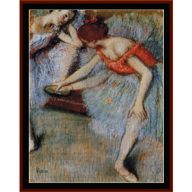 dancers, 1895 - degas  cross stitch pattern by cross stitch collectibles