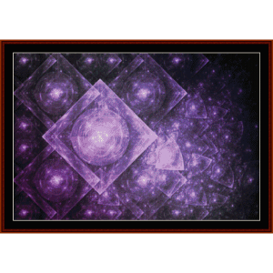 Fractal 407  cross stitch pattern by Cross Stitch Collectibles | Crafting | Cross-Stitch | Wall Hangings