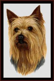 Yorkshire Terrier - Robert J. May cross stitch pattern by Cross Stitch Collectibles | Crafting | Cross-Stitch | Wall Hangings