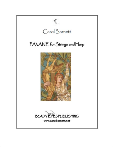 Pavane for Strings and Harp (PDF) | Music | Classical