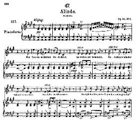 Alinde D.904 in A Major, High Voice, F. Schubert (Pet.) | eBooks | Sheet Music