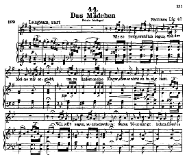 Das Mädchen D 652 in G Major, High Voice. F. Schubert (Pet.). | eBooks | Sheet Music