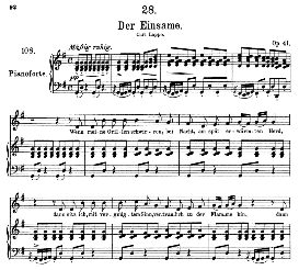 Der Einsame D.800, High Voice in G Major, F. Schubert (Pet.) | eBooks | Sheet Music