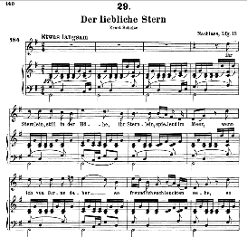 Der liebliche Stern D.861, High Voice in G Major, F. Schubert (Pet.) | eBooks | Sheet Music