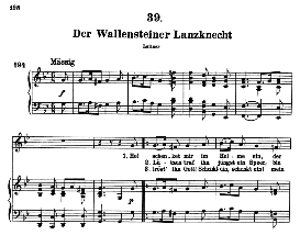 Der wallensteiner Lanzknecht D.931, High Voice in G Minor, F. Schubert (Pet.) | eBooks | Sheet Music