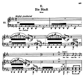 Die Stadt D.957-11, High Voice in C Minor, F. Schubert (Winterreise) Pet. | eBooks | Sheet Music