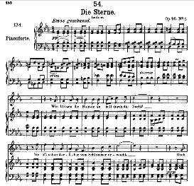 Die Sterne D.939, High Voice in E Flat Major, F. Schubert, Pet. | eBooks | Sheet Music