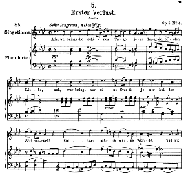 Erster verlust D.226, High Voice in F Minor, F. Schubert (Pet.) | eBooks | Sheet Music