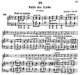 fülle der liebe d.854, high voice in a flat major, f. schubert (pet.)