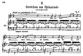 Gretchen am Spinnrade D.118, High Voice in D Minor, F. Schubert (Pet.) | eBooks | Sheet Music