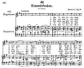 Himmelsfunken D.651, High Voice in G Major, F. Schubert (Pet.) | eBooks | Sheet Music