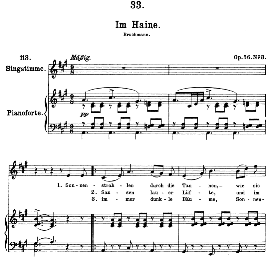 Im Haine D.737, High Voice in A Major, F. Schubert (Pet.) | eBooks | Sheet Music