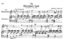 Klärchen's Lied D.210, High Voice in B Flat Major, F. Schubert  (Pet.) | eBooks | Sheet Music