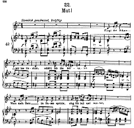 Mut D.911-22, High Voice in G Minor, F. Schubert (Winterreise) Pet. | eBooks | Sheet Music