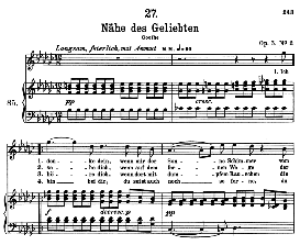 Nähe des Geliebten D.162, High Voice in G Flat Major, F. Schubert (Pet.) | eBooks | Sheet Music