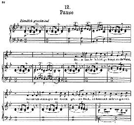 Pause D.795-12, High Voice in B Flat Major, F. Schubert (Die Schöne Müllerin) Pet. | eBooks | Sheet Music