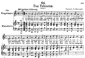 Pax vobiscum D.551, High Voice in F Major, F. Schubert (Pet.) | eBooks | Sheet Music