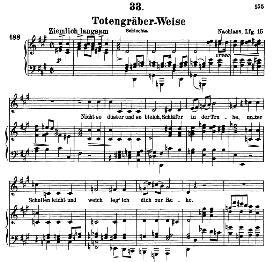 Todengräberweise D.869, High Voice in F Sharp Minor, F. Schubert (Pet.) | eBooks | Sheet Music