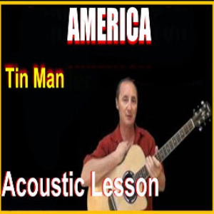Learn to play Tin Man by America | Movies and Videos | Educational