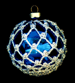 crochet christmas ornament cover b1-1