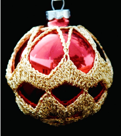crochet christmas ornament cover b1-6
