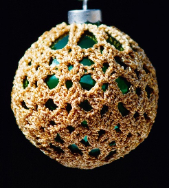 crochet christmas ornament cover b2-4