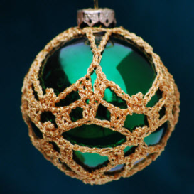 crochet christmas ornament cover b3-9