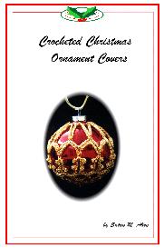 crochet christmas ornament cover b1