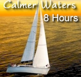 sailboat - calmer waters - 8 hours