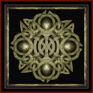 Fractal  416 cross stitch pattern by Cross Stitch Collectibles | Crafting | Cross-Stitch | Wall Hangings
