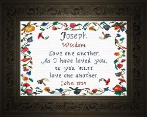 name blessings - joseph 3