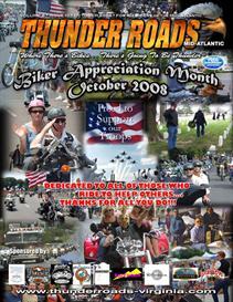 Thunder Roads Virginia Magazine - October '08 | eBooks | Automotive
