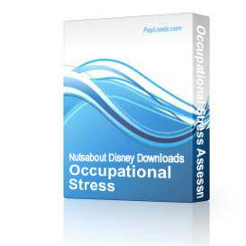 Occupational Stress Assessment v. 2.5 | Software | Business | Other