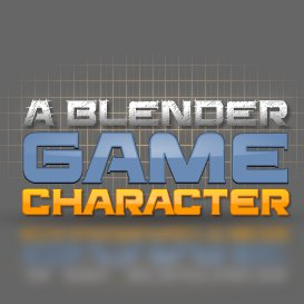 a blender game character
