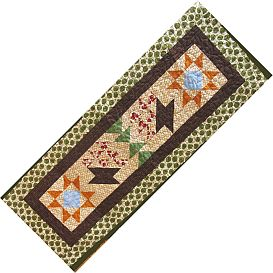 schoharie bounty tablerunner