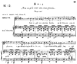 Non so piu cosa son, cosa faccio.(Aria for Soprano or Mezzo). W.A.Mozart: Le Nozze di Figaro (The Marriage of Figaro), K. 492. Ed. Ricordi (PD) | eBooks | Sheet Music