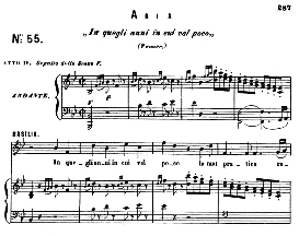 In quegli anni. (Tenor Aria). W.A.Mozart :Le Nozze di Figaro, K. 492. W.A.Mozart, Vocal Score. Ed. Ricordi (PD) | eBooks | Sheet Music