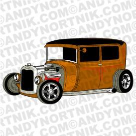 car clip art rat rod